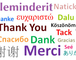 """Albanian Word/Phrase of the Day: """"Thank you"""""""