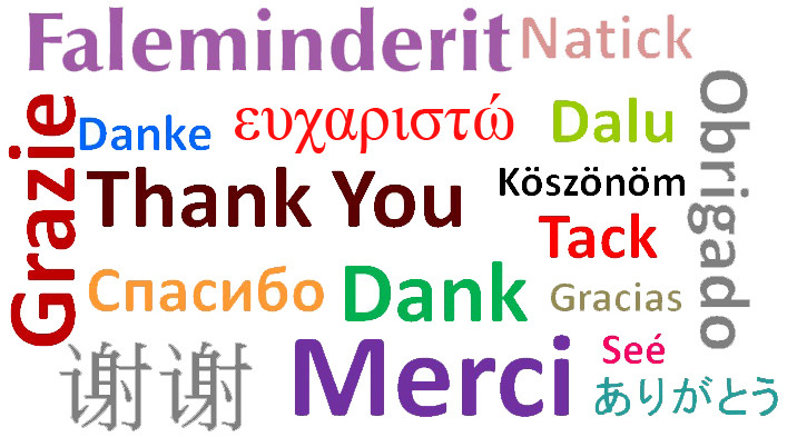 "Albanian Word/Phrase of the Day: ""Thank you"""