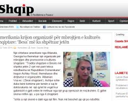 Albanian Voices makes it on Gazeta Shqip!