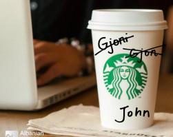 My Name Is Gjoni, But At Starbucks, It's John