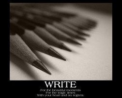 Motivate Yourself To Write!